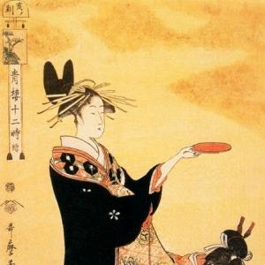Китагава Утамаро - Час кабана