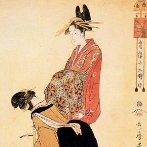 Китагава Утамаро - Час собаки