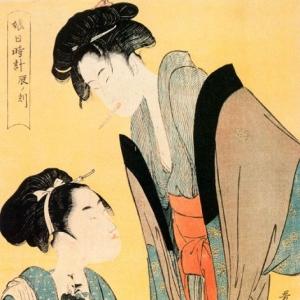 Китагава Утамаро - Час кролика
