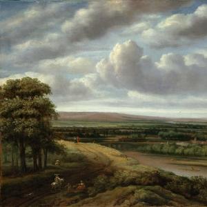Конинк Филипс - Обширный лесной пейзаж