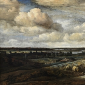 Конинк Филипс - Голландский панорамный пейзаж с рекой