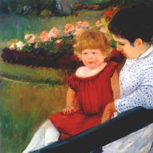 Кассат Мэри - В парке, ок. 1894