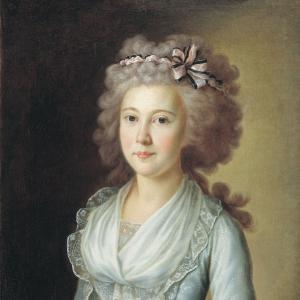 Портрет молодой дамы (Е.Н. Лихачевой). 1790