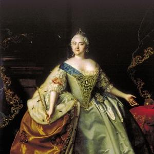 Портрет императрицы Елизаветы Петровны