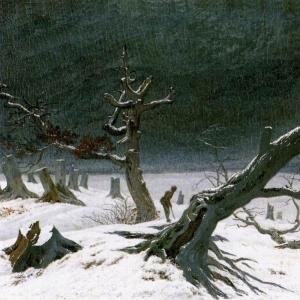 Каспар Давид Фридрих - Зимний пейзаж, 1811