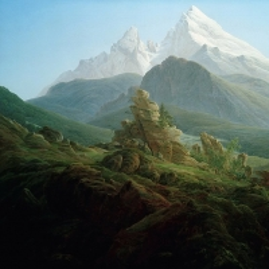 Каспар Давид Фридрих - Гора Ватсманн
