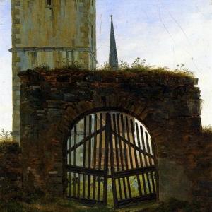 Каспар Давид Фридрих - Кладбищенские ворота