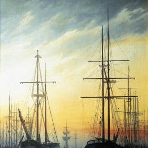 Каспар Давид Фридрих - Вид гавани
