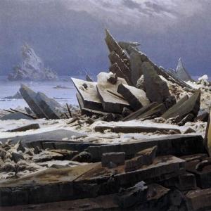 Каспар Давид Фридрих - Кораблекрушение в Арктике