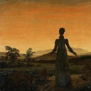 Каспар Давид Фридрих - Женщина встречает восход