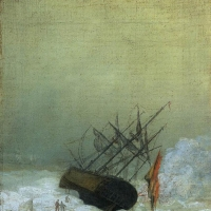Каспар Давид Фридрих - Корабль, погубленный морем
