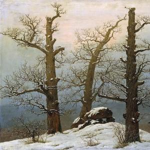 Каспар Давид Фридрих - Дольмен под снегом