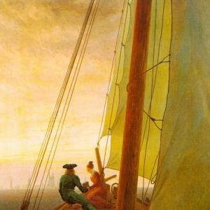 Каспар Давид Фридрих - На борту парусника