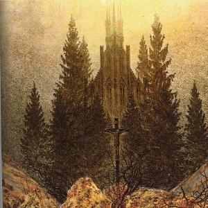 Каспар Давид Фридрих - Крест на горе