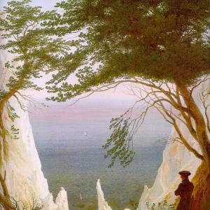 Каспар Давид Фридрих - Меловые скалы на Рюгене