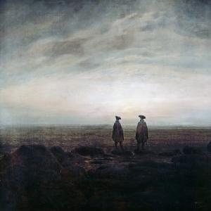 Каспар Давид Фридрих - Двое мужчин у моря