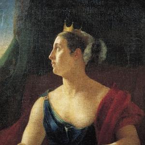 Портрет Екатерины Семёновны Семёновой в роли Клеопатры
