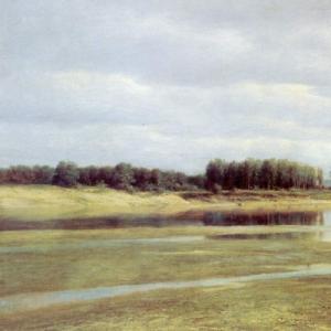 Клодт Михаил Константинович - Волга у Жигулей