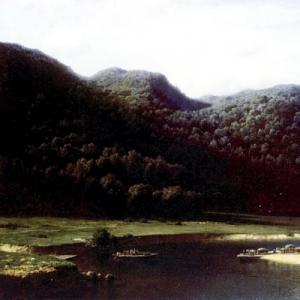 Клодт Михаил Константинович - Долина реки Аа в Лифляндии