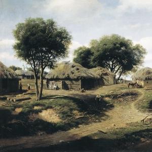 Село в Орловской губернии