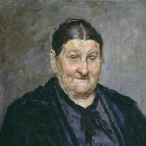 Костанди Кириак Константинович - Портрет М.И. Князевой