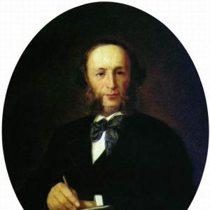 Портрет художника И.К. Айвазовского