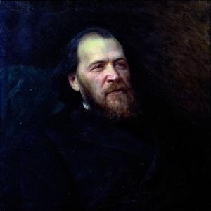 Портрет поэта Якова Петровича Полонского