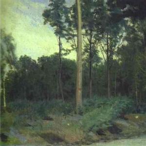 Булонский лес недалеко от Парижа