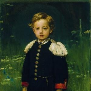 Портрет Сергея Крамского, сына художника