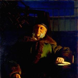 Портрет астронома Отто Васильевича Струве