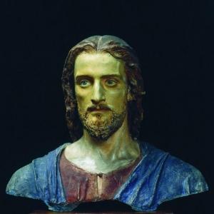Христос. Этюд для картины Хохот