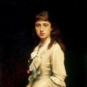 Портрет Софьи Ивановны Крамской, дочери художника