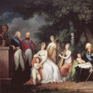 Павел I, Мария Фёдоровна и их дети