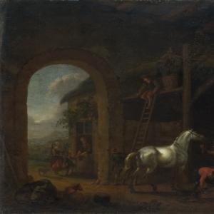 Абрахам ван Калрает - Стабильный интерьер