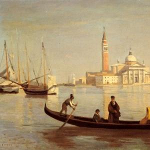 Жан Батист Камиль Коро - Венеция