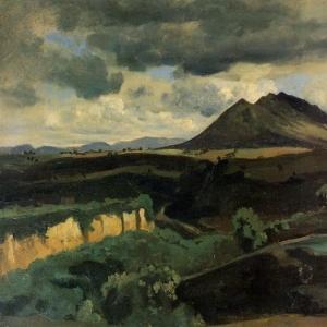 Жан Батист Камиль Коро - Гора Соракте