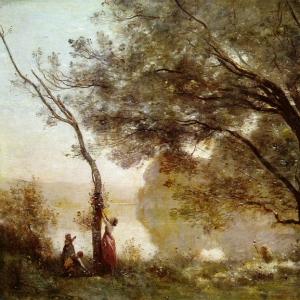 Жан Батист Камиль Коро - Воспоминание о Мортефонтене