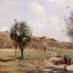 Жан Батист Камиль Коро - Дорога наверх, к Куброну