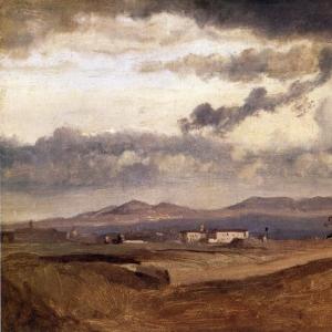 Жан Батист Камиль Коро - Вид на Римскую Кампанью