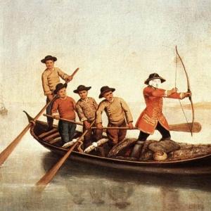 Лонги Пьетро - Охотники на уток в лагуне