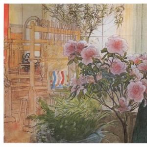 Карл Ларсон - Азалия, 1906
