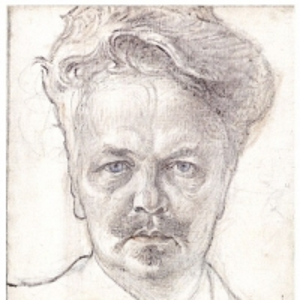 Карл Ларсон - Август Стриндберг, 1899