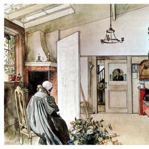 Карл Ларсон - Другая половина студии, 1894-97