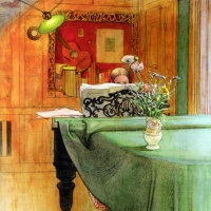 Карл Ларсон - Брита за фортепьяно, 1908