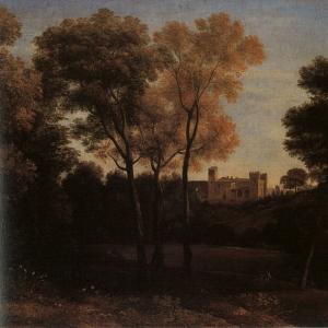 Клод Лоррен - Вид Кресченцы, 1648-50