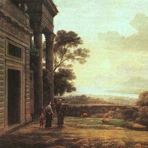 Клод Лоррен - Изгнание Агари, 1668
