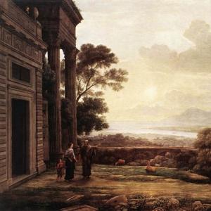 Клод Лоррен - Изгнание Агари
