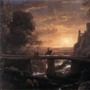 Клод Лоррен - Воображаемый вид Тиволи
