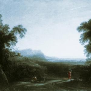 Клод Лоррен - Пейзаж на закате