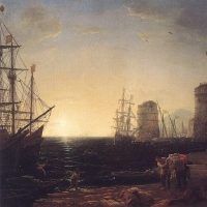 Клод Лоррен - В гавани на закате